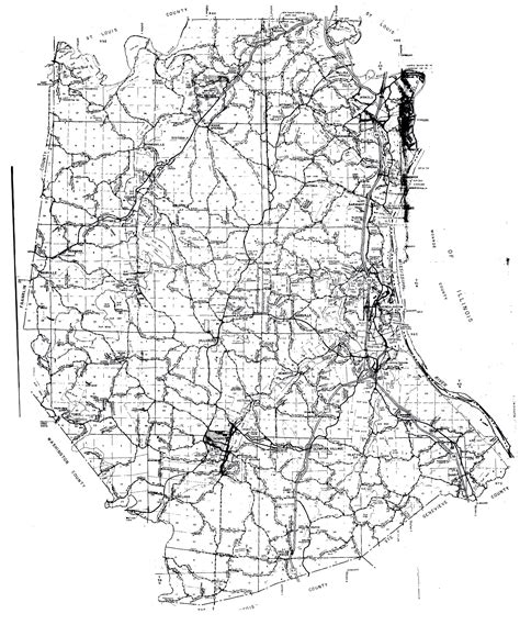 map of jefferson county mo jefferson co mo political and survey township guide