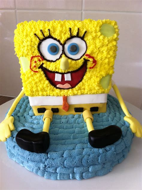 Spongebob Cakes ? Decoration Ideas   Little Birthday Cakes
