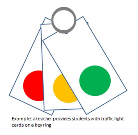 Traffic Light Cards Template by Traffic Light Clipart Self Assessment Pencil And In