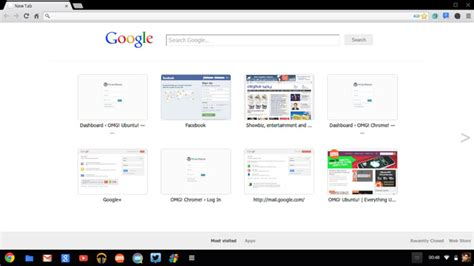 page layout update google chrome dev channel revs new tab page omg chrome