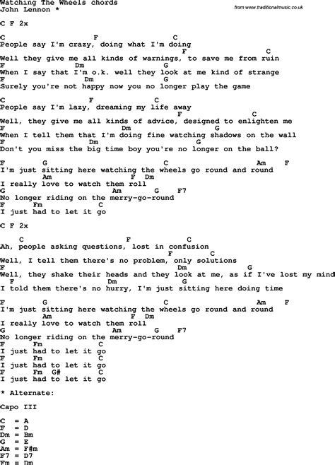 Acoustic Guitar Chords And Lyrics