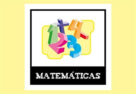 imagenes de matematicas nombre fichas matem 225 ticas educaci 243 n primaria