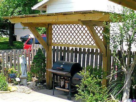 basic design   bbq shelter  lattice