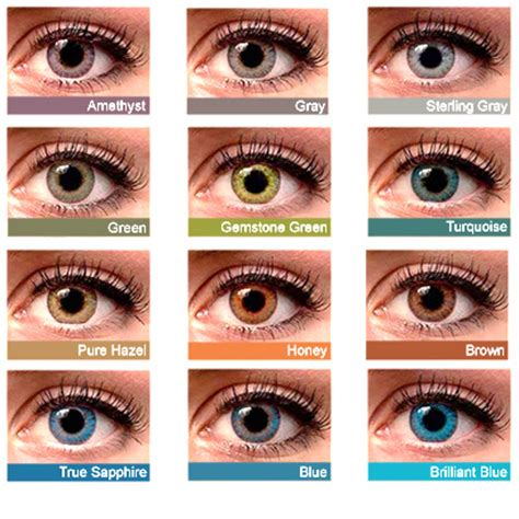 fresh colors pure hazel contacts www pixshark com images galleries