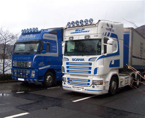 G P Scotie g p transport the 200th scottish fleet news from lorryspotting