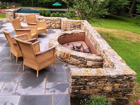 How To Create Fire Pit On Yard Simple Backyard Fire Pit Pictures Of Pits In A Backyard