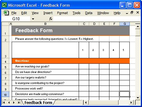 feedback template excel communication plan ms word template