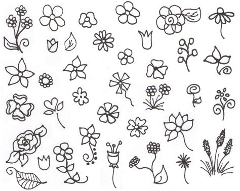 Sketches And Doodles by My Inspiration Flower Doodles Drawing