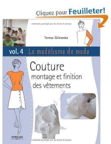 Modelisme Couture Pdf le mod 233 lisme de mode tome 4 couture montage et