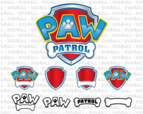 Paw Patrol Logo Clipart Bbcpersian7 Collections Paw Patrol Logo Template
