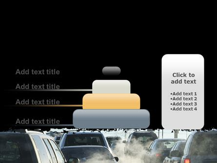 Exhaust System Of Automobile Ppt Exhaust Fumes Powerpoint Template Backgrounds 06321