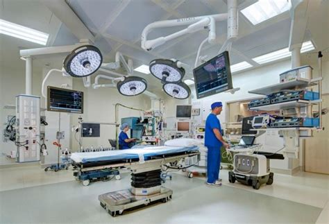 cardiovascular operating room mccarthy completes construction of 456 million prebys