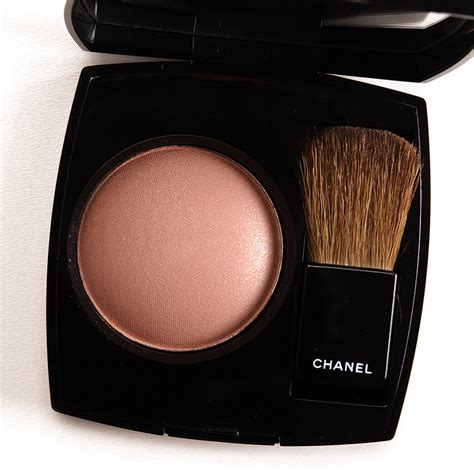 chanel golden sun  joues contraste blush review  swatches