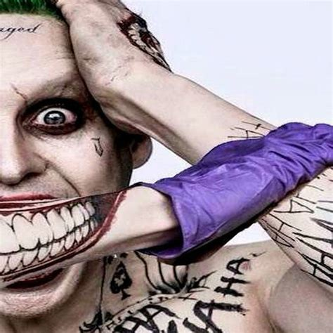 tattoo kits joker suicide squad joker costume tattoo kit makeup halloween