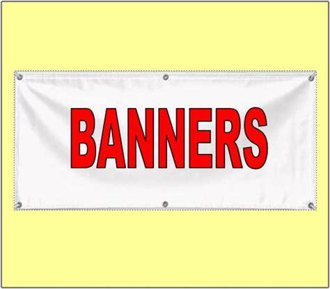 stron biz vinyl banner template