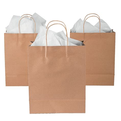 Paper Craft Bags - large brown kraft paper gift bags trading