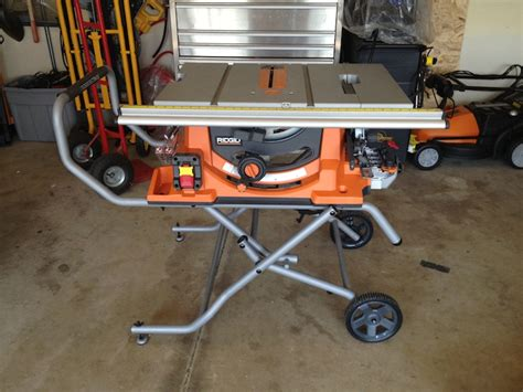 Ridgid Portable Table Saw by Ridgid R4510 Review Portable Table Saw