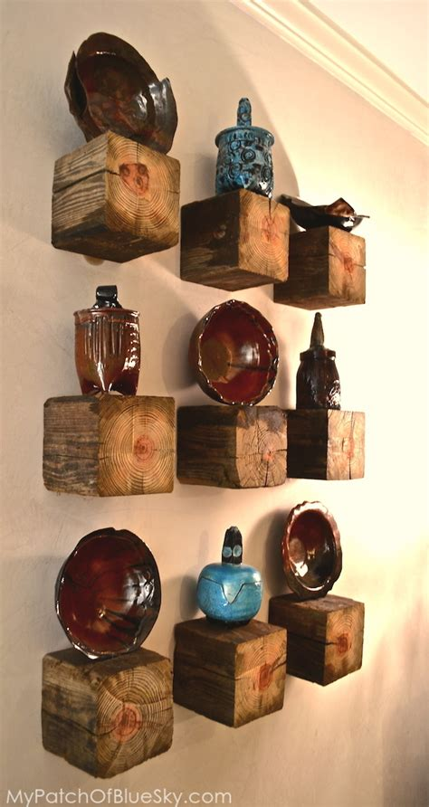 diy nature decor 14 brilliant ideas to use wood and nature as decor in your home 9 wall placements diy home