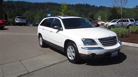 Pacifica Chrysler 2005 by 2005 Chrysler Pacifica White Stock 19826b