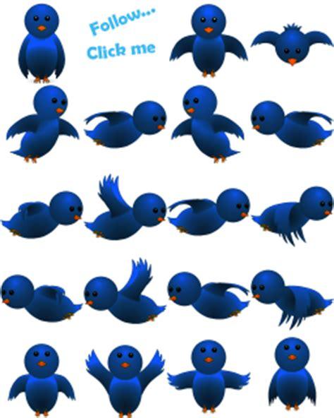 membuat burung twitter terbang  blog