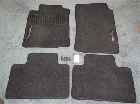 Toyota Tacoma Trd Floor Mats by Toyota Tacoma Trd Road Floor Mats Tacoma World