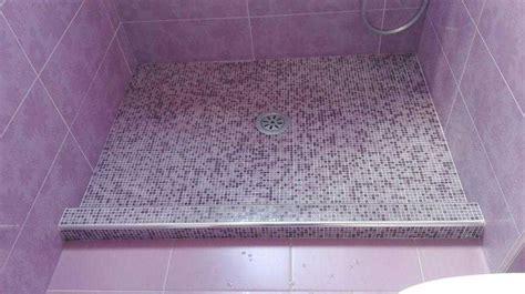 doccia a pavimento mosaico claris arredo bagno vomero mobili box doccia napoli