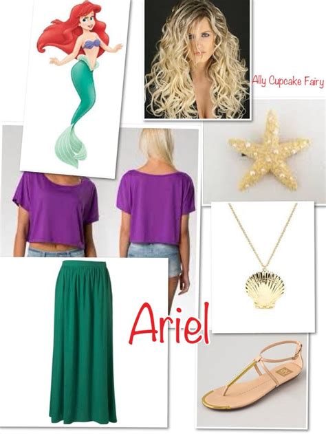 pin by inspired by disney ariel disney inspired outfit disney world trip outfits