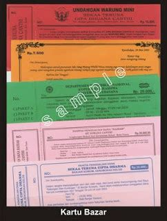 template undangan bali kartu bazar bali grafis printing