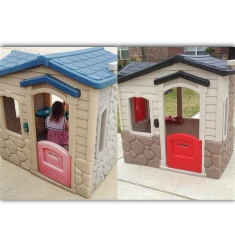 Tikes House by 141 Best Dollhouse Plastic Palaces Images On