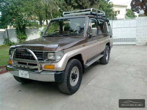 Toyota Land Cruiser Used Used Toyota Land Cruiser 1991 Car For Sale In Rawalpindi