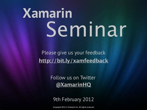 xamarin tutorial pptx top 5 features of ice cream sandwich with mono for android 4 0