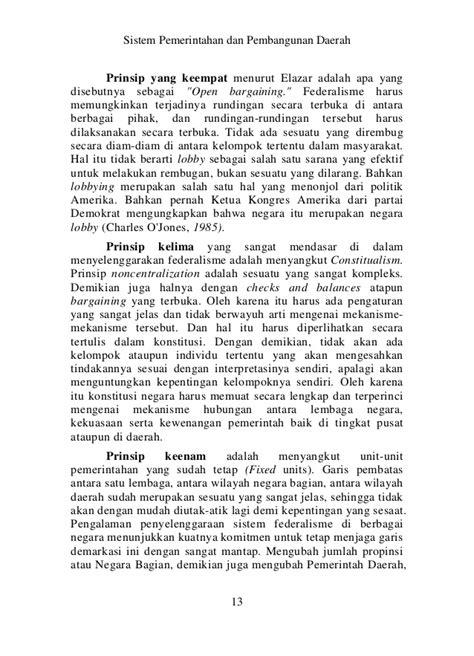 Buku Dimensi Kerugian Negara Dalam Hubungan Kontraktual sistem pemerintahan dan pembangunan daerah