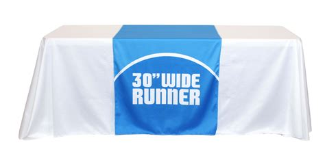 trade show table cloth covers and table runners