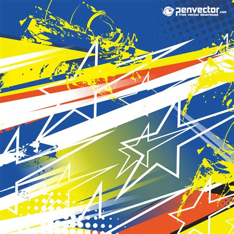 Kaos Ashter Terate Free Stiker racing stripe streak abstract background free vector vectorpic