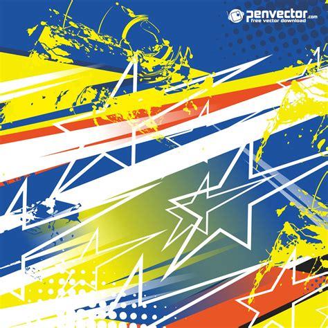 racing stripe streak abstract background  vector
