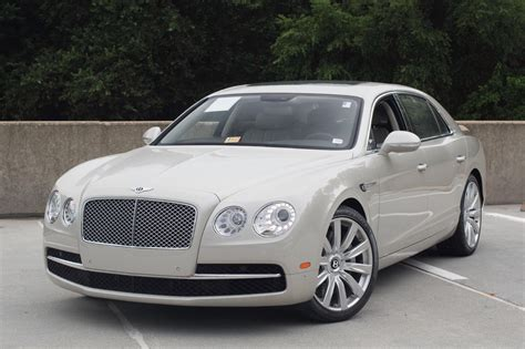 bentley flying spur white 2014 bentley flying spur stock 4n094033 for sale near