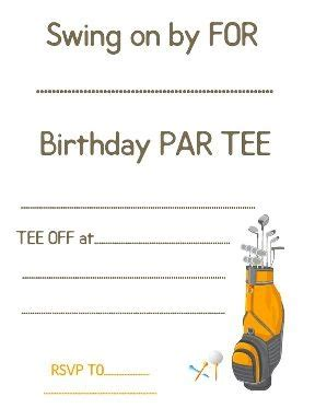 golf themed birthday quotes 170 best images about free printable birthday party