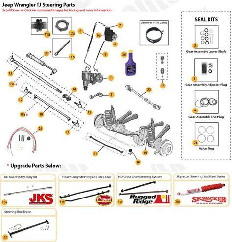 jeep suspension diagram 21 best images about jeep tj unlimited parts diagrams on