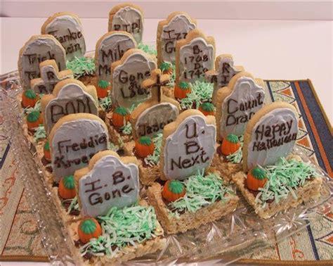 halloween tombstone treats   special treat  party