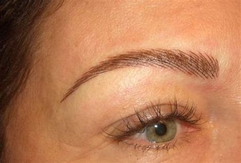natural eyebrow tattoo permanent eyebrow tatooing for would you do it