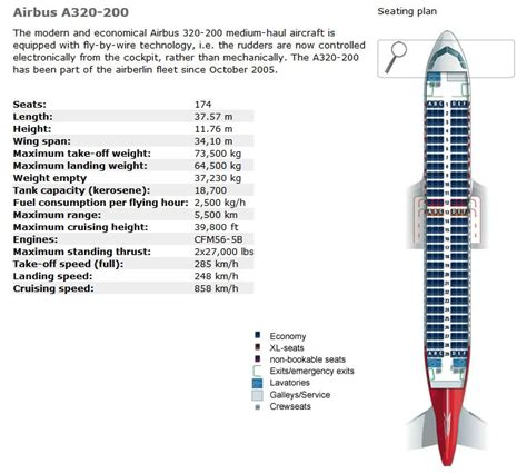 air berlin airlines airbus a320 200 aircraft seating chart