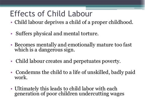 Child Labor Essay Causes And Effects by Cause Effect Essay Writing Rubric Wade Hton