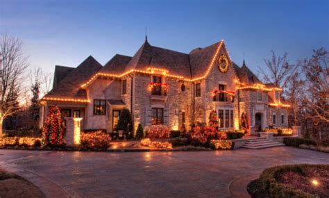 a look at homes decorated with lights homes of