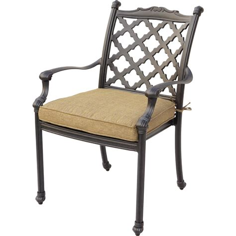 Cast Aluminum Patio Chairs Darlee Camino Real 7 Cast Aluminum Patio Dining Set With Table Ultimate Patio