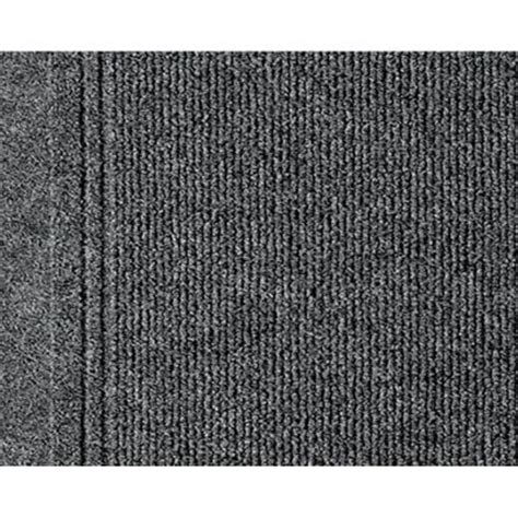 multy home tracker gray 26 in x 60 ft roll rug runner