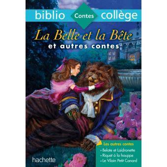 libro la belle et la bibliocoll 232 ge la belle et la b 234 te et autres contes n 176 68 broch 233 jeanne marie leprince de