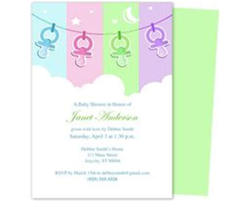 publisher templates for baby shower 1000 images about baby shower invitation templates on