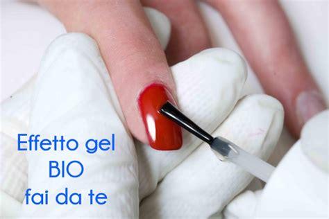 gel per unghie fatto in casa effetto unghie gel fai da te con prodotti bio bio make up