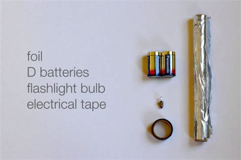 simple electric circuit materials duper simple circuit science project