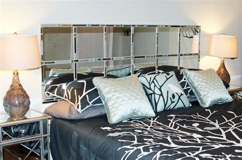 diy mirrored headboard diy mirrored headboard ideas home improvement 2017